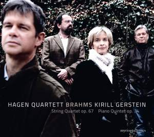 Brahms: String Quartet Op. 67 and Piano Quintet Op. 34
