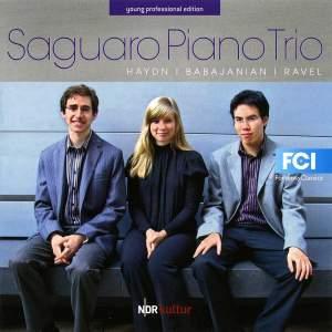 Saguaro Piano Trio: Haydn, Babajanian & Ravel