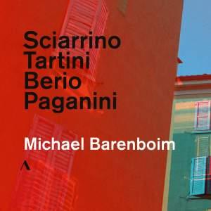 Sciarrino, Tartini, Berio & Paganini: Michael Barenboim