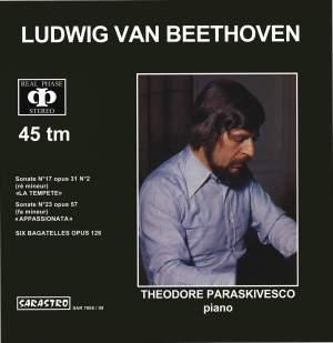 "Beethoven: Sonate No. 17, Op. 31, No. 2, ""La Tempete"" - Sonate No. 23, Op. 57, ""Appassionata"" - 6 Bagatelles, Op. 126"