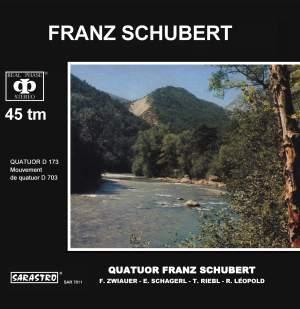 Schubert: Quatuor, D. 173 / Mouvement de quatuor, D. 703