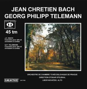 Casadesus: Cello Concerto in C minor - Telemann: Viola Concerto in G major