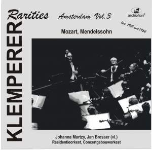 Klemperer Rarities: Amsterdam, Vol. 3