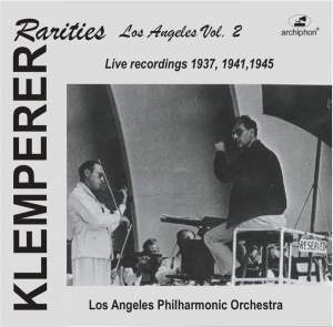 Klemperer Rarities: Los Angeles, Vol. 2 (1937-1945) Product Image