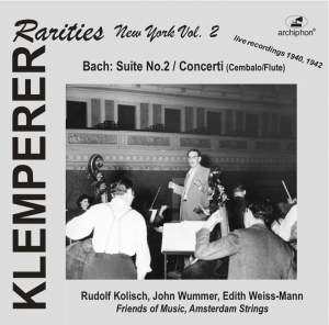 Klemperer Rarities: New York, Vol. 2 (1940, 1942)