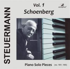 Eduard Steuermann, Vol. 1: Schoenberg Product Image