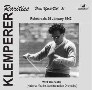 Klemperer Rarities: New York, Vol. 3 (1942) Product Image