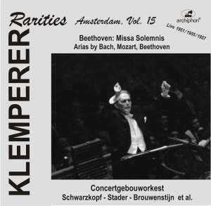 Klemperer Rarities: Amsterdam, Vol. 15 (1951-1957) Product Image