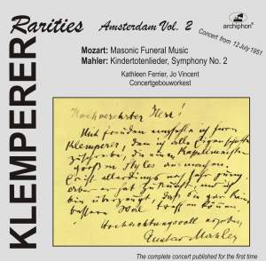 Klemperer Rarities: Amsterdam, Vol. 2 (1951) Product Image