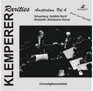 Klemperer Rarities: Amsterdam, Vol. 4 (1955) Product Image