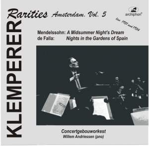 Klemperer Rarities: Amsterdam, Vol. 5 (1951) Product Image