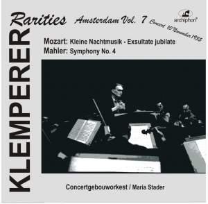 Klemperer Rarities: Amsterdam, Vol. 7 (1955) Product Image
