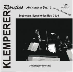 Klemperer Rarities: Amsterdam, Vol. 6 (1955) Product Image