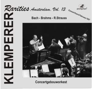 Klemperer Rarities: Amsterdam, Vol. 13 (1957) Product Image