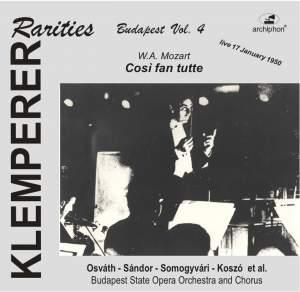 Klemperer Rarities: Budapest, Vol. 4 (1950)