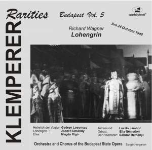 Klemperer Rarities: Budapest, Vol. 5 (1948) Product Image