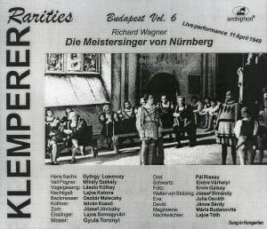 Klemperer Rarities: Budapest, Vol. 6 (1949) Product Image