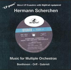 Hermann Scherchen conducts Music for Multiple Orchestras Product Image