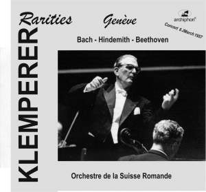 Klemperer Rarities: Geneva (1957) Product Image