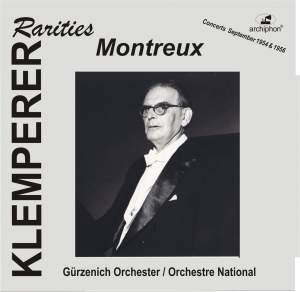 Klemperer Rarities: Montreux