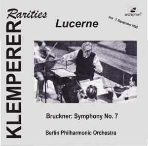 Klemperer Rarities: Lucerne (1958)
