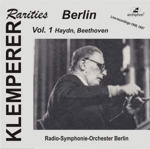 Klemperer Rarities: Berlin, Vol. 1