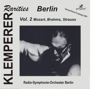 Klemperer Rarities: Berlin, Vol. 2