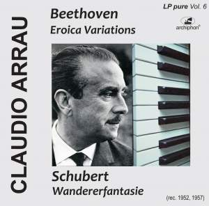 Arrau plays Beethoven and Schubert (LP-Pure Vol. 6) Product Image
