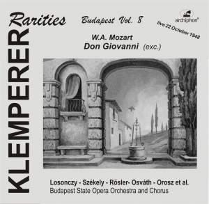 Klemperer Rarities: Budapest, Vol. 8 (1948) Product Image