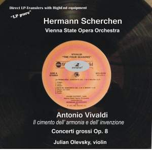 VIVALDI, A.: Concerti grossi, Op. 8, Nos. 1-12 (LP Pure, Vol. 7) (Olevsky, Vienna State Opera Orchestra, Scherchen) (1958)
