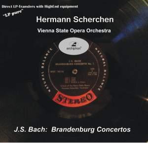 BACH, J.S.: Brandenburg Concertos Nos. 1-6 (Vienna State Opera Orchestra, Scherchen) (1960)