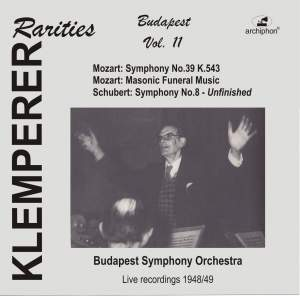 Klemperer Rarities: Budapest, Vol. 11 (Recorded 1948-1949)