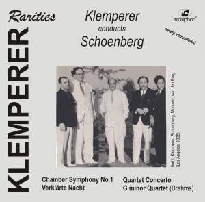 Klemperer Conducts Schoenberg Product Image