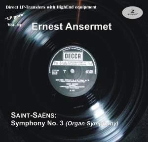 Saint-Saëns: Symphony No. 3 in C minor, Op. 78 'Organ Symphony' Product Image