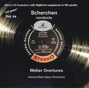 LP Pure, Vol. 23: Scherchen Conducts Weber Overtures