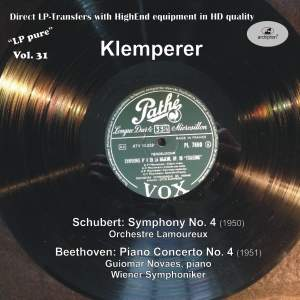 LP Pure, Vol. 31: Klemperer Conducts Schubert & Beethoven