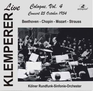 Klemperer Live in Cologne, Vol. 4 (Historical Recordings) [Live]