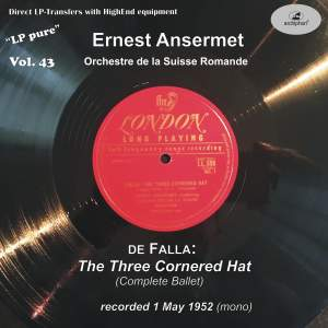 LP Pure, Vol. 43: Ansermet Conducts Falla