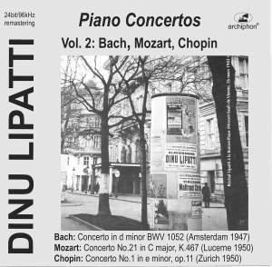 Bach, Mozart & Chopin: Piano Concertos (Live) Product Image
