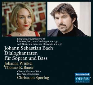 JS Bach: Dialogue Cantatas for Soprano and Bass
