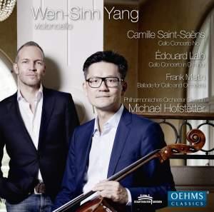 Saint-Saëns: Cello Concerto No. 1