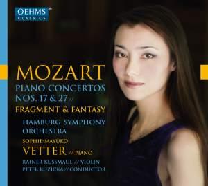 Mozart: Piano Concertos Nos. 17 & 27& Fantasia in C Minor