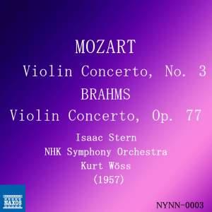 Mozart & Brahms: Violin Concerti