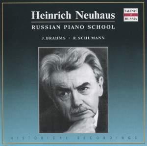 Schumann & Brahms: Piano Works