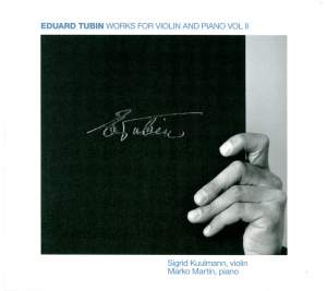 Tubin: Works for Violin and Piano, Vol. 2