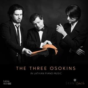 The 3 Osokins in Latvian Piano Music Product Image