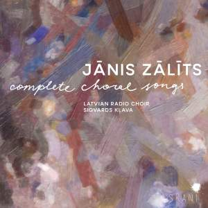 Janis Zalits: Complete Choral Songs Product Image