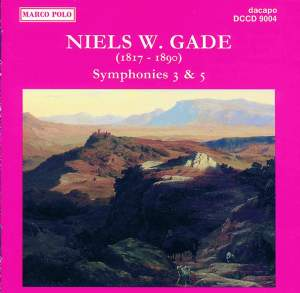 Niels W. Gade: Symphonies 3 & 5 Product Image