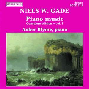 Niels W. Gade: Piano Music Vol. 1 Product Image