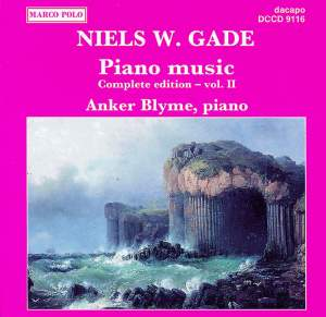 Niels W. Gade: Piano Music Vol. 2 Product Image